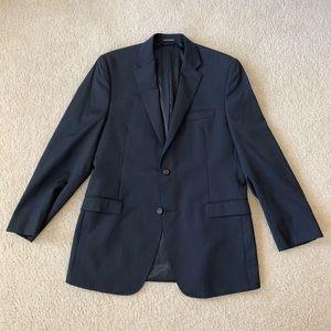 NWOT Ralph Lauren Pinstripe Blue Blazer 42L Slim